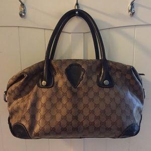 AUTH GUCCI SHOULDER BAG